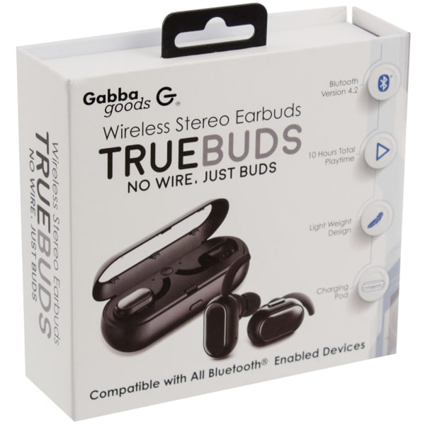 ae35cfd55d2 TrueBuds Wireless Stereo Earbuds with Charging Pod