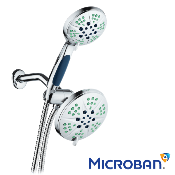 NOTILUS Antimicrobial Shower Head With Wand