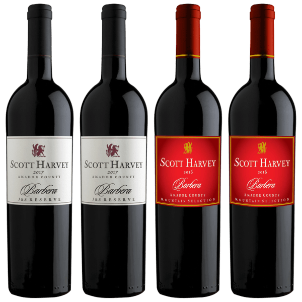 Scott Harvey Reserve and Mountain Selection Barbera