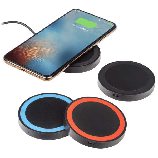 4-Pack: Qi Wireless Charging Pads