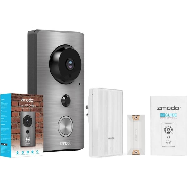 Zmodo Greet WiFi Video Doorbell with Beam Smart Home Hub and WiFi