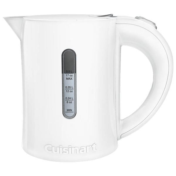 Cuisinart 0.5 Liter/17oz Electric QuicKettle - White