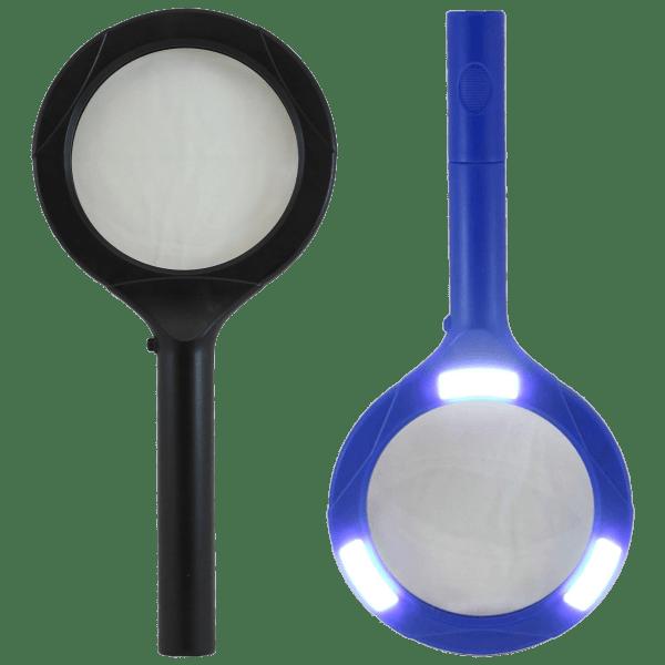 2-Pack: LitezAll COB LED Lighted Magnifier