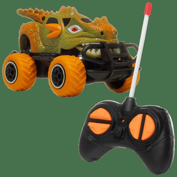 Rugged Racers Dinosaur Racer Mini R/C Car