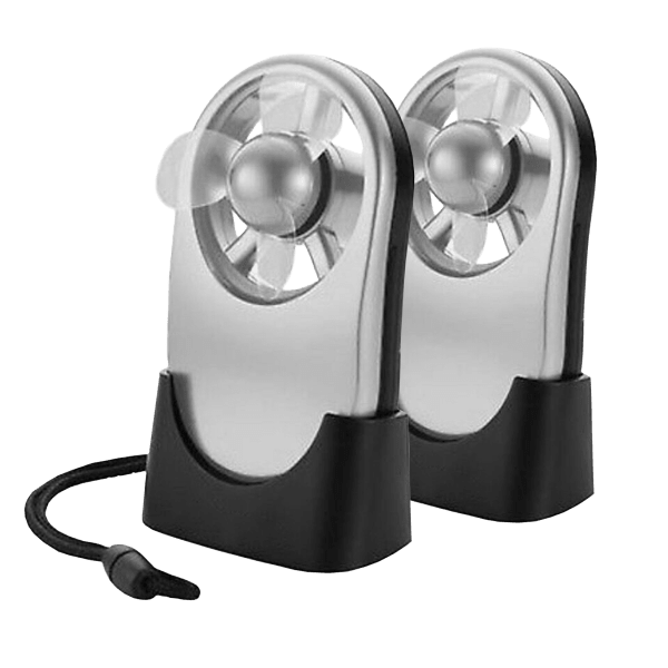 2-Pack: Touch-Activated Fans