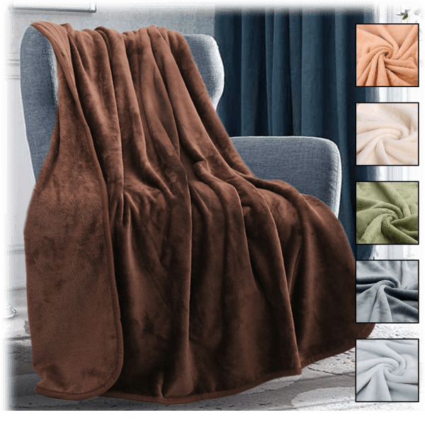 Lightweight Super Soft All Season Microfiber Blanket