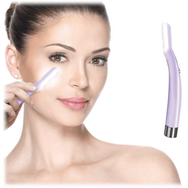 Vivitar Dermaplaning Facial Exfoliation and Hair Remover Tool with Light