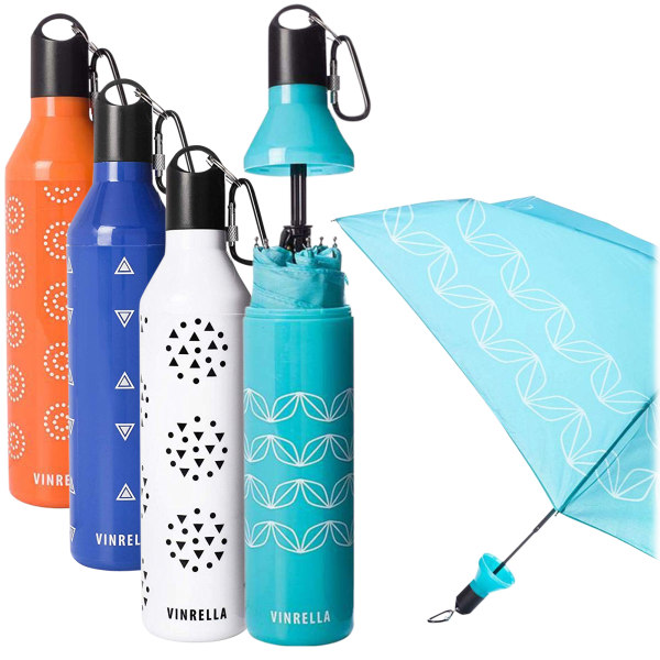 Vinrella Umbrella in a Bottle