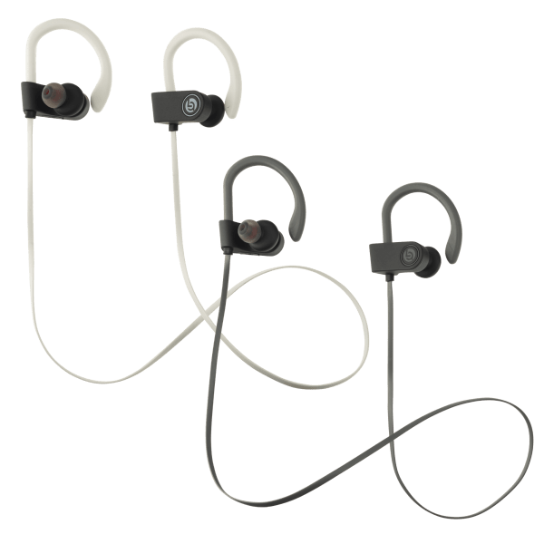 Single OR 4-Pack of Lifestyle Advanced Elevate Premium Bluetooth Stereo Earbuds