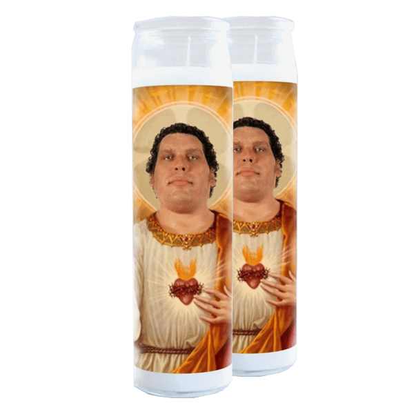 2-Pack of Andre The Giant Prayer Candles
