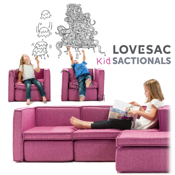 Lovesac Sactionals for Kids & Pets