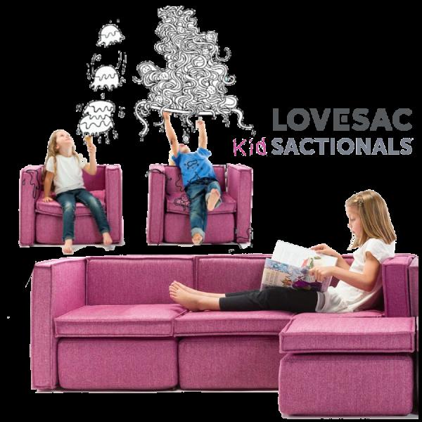 Lovesac Sactionals for Kids & Pets