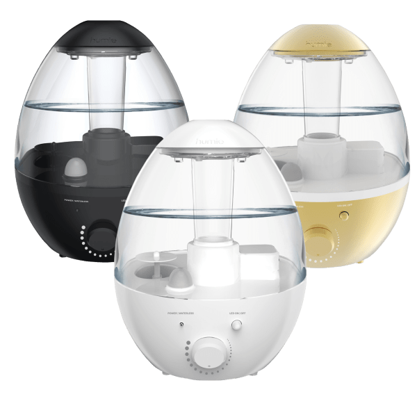 Humie Ultrasonic Cool Mist Humidifier & Aromatherapy Diffuser