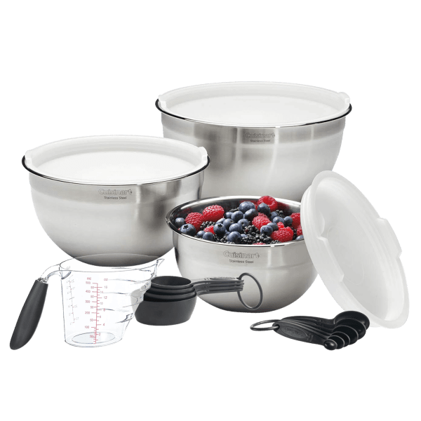 Cuisinart Stainless Steel Professional Mixing Set