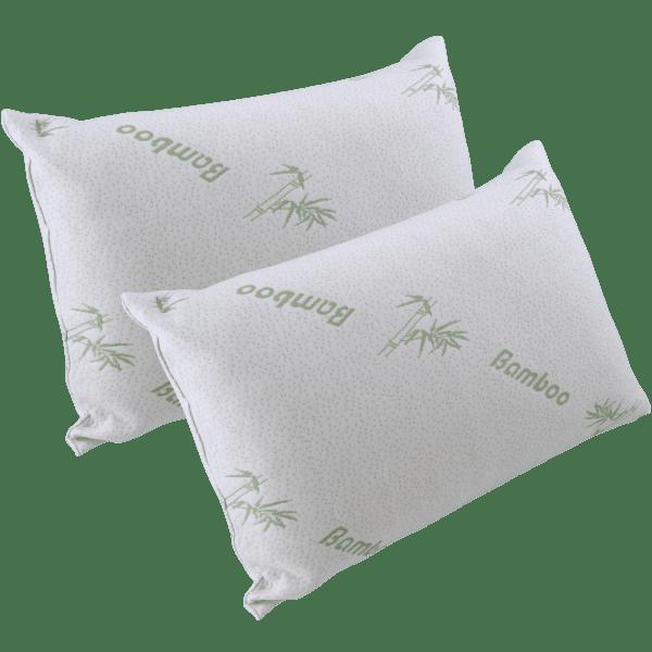 2-Pack: Bamboo Pillows
