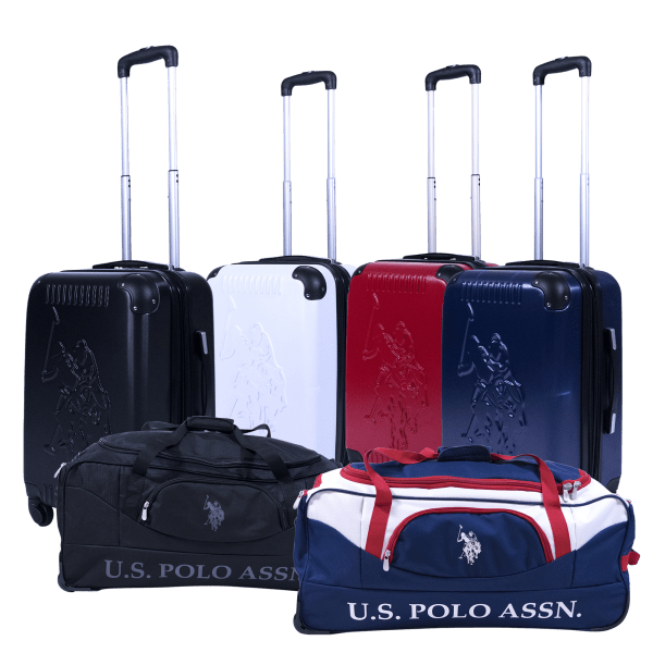 "U.S. Polo Assn 21"" Hard-Sided Luggage or 30"" Duffels"