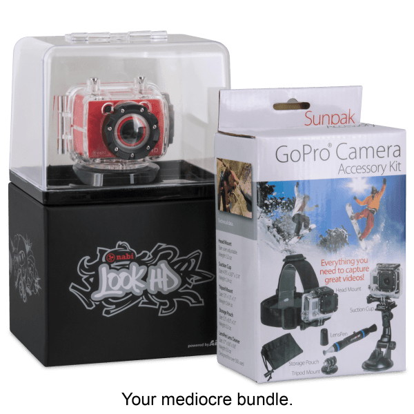 Nabi Look HD Camera and GoPro Accessory Kit