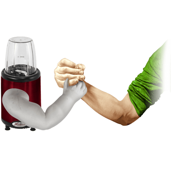 Fusion Xcelerator 1000W Emulsifier and Personal Blender Set