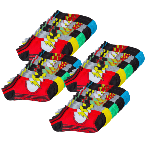 20-Pack: Justice League Low Rise Socks for Kids