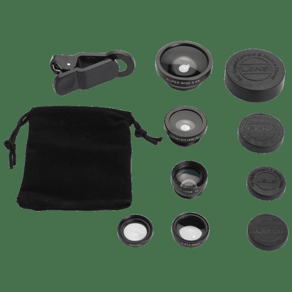 Power to Go Lens Kit 5 in 1 Glass Lenses for Smartphones