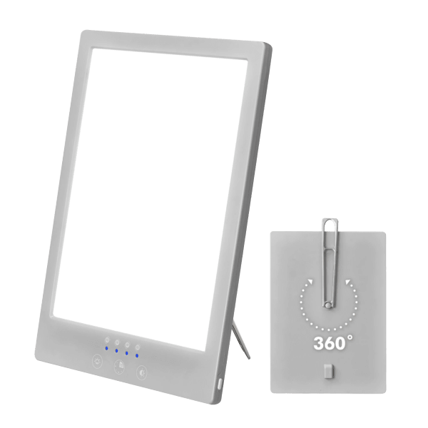 AllSett Adjustable Sunlight Therapy Lamp
