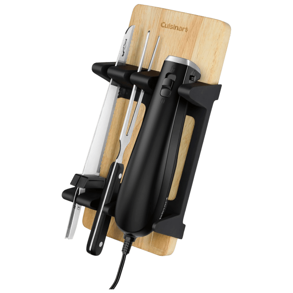 Cuisinart Electric Knife Set with Bamboo Cutting Board (Open Box)