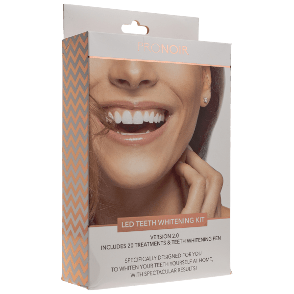Pronoir Led Teeth Whitening Kit With On The Go Whitening Pen