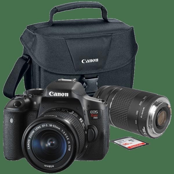 Canon EOS Rebel T6i Bundle