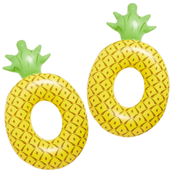 2-Pack Pineapple Pool Floats