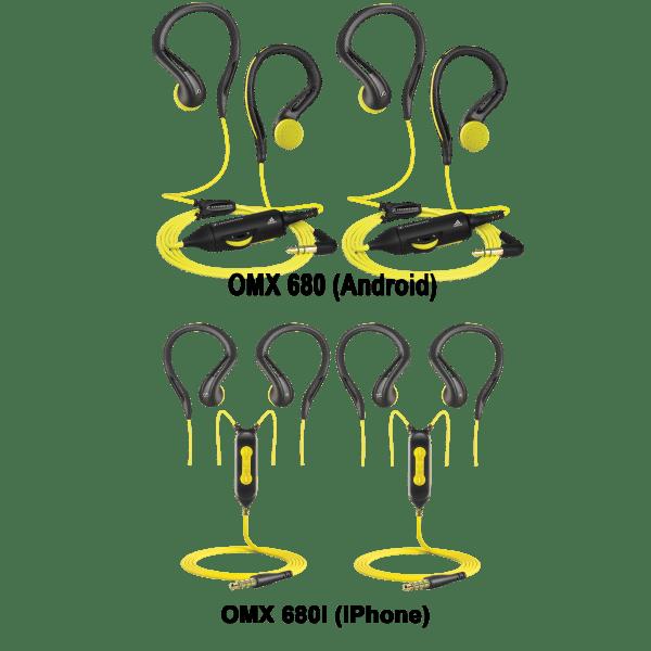 2-for-Tuesday: Sennheiser Adidas OMX 680 & 680i In-Ear Headphones