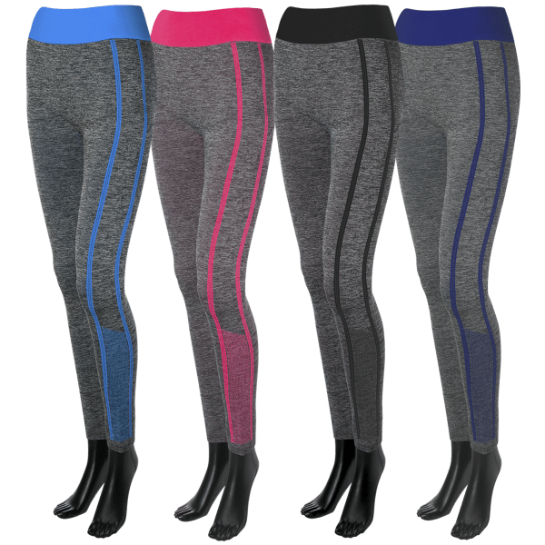 2-Pack: Maze Co. Sport Leggings (One Size Fits Most)
