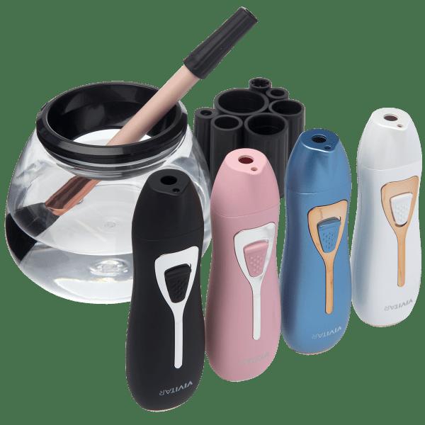 Vivitar Magic Spin Electric Makeup Brush Cleaner