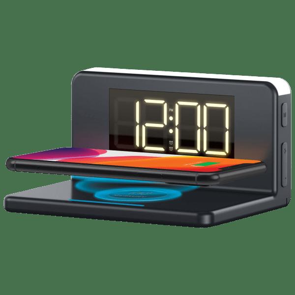 Merkury Innovations Wireless Charging Alarm Clock