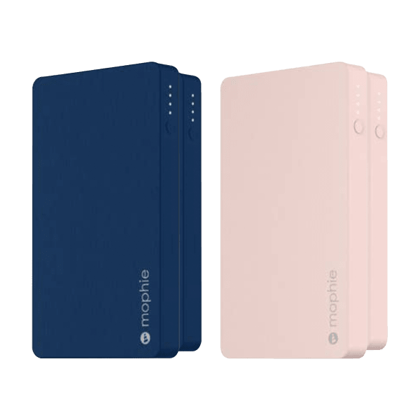 2-Pack: Mophie Powerstation 6040mAh Power Banks with Lightning & Dual USB-A