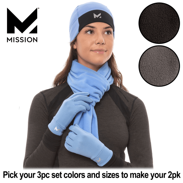 Pick-2-for-Tuesday: Mission RadiantActive Hat, Scarf, and Gloves Set