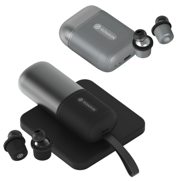 Rowkin Ascent Micro or Charge+ Bluetooth 5.0 Earbuds (Refurbished)