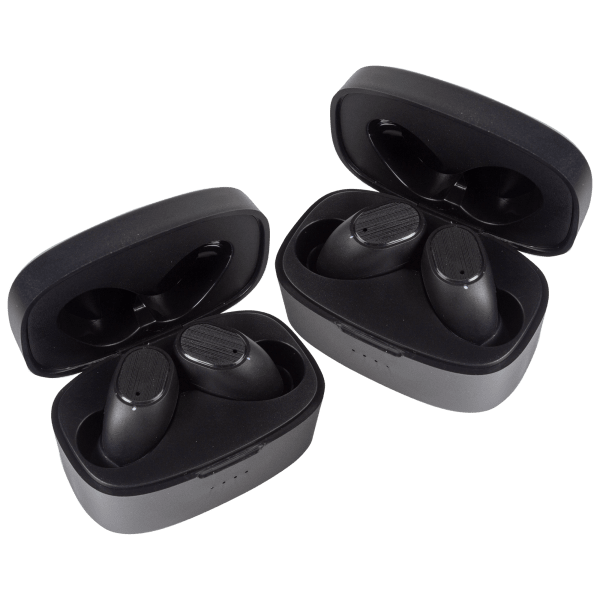 2-Pack: Airbuds AIR3 True Wireless Water Resistant Earbuds with Charging Case