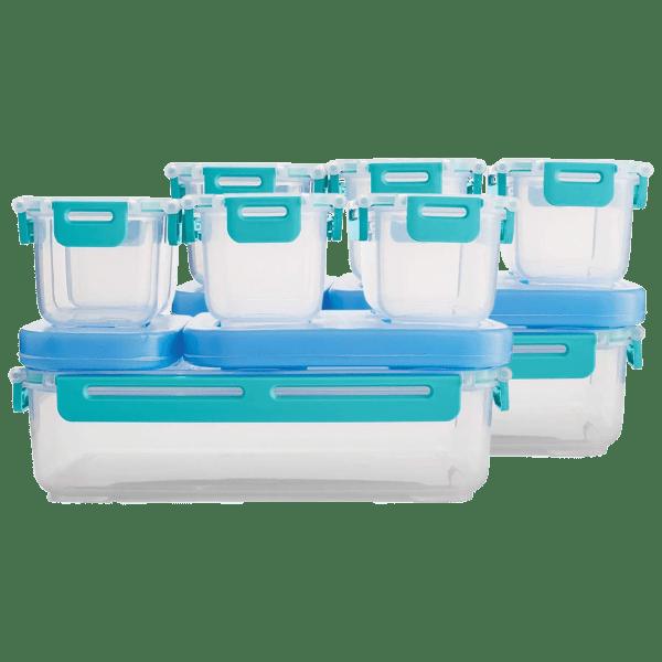 2-Pack: Rubbermaid LunchBlox Leak Proof Large Entree & Sides Set