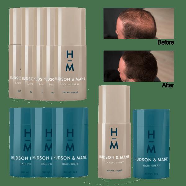 4-for-Tuesday: Hudson & Mane Hair Fiber Bundles