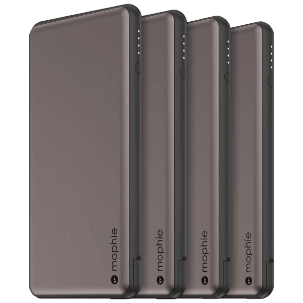 4-Pack: Mophie Powerstation Plus 18W PD 6,000mAh USB-C Charger (Refurbished)