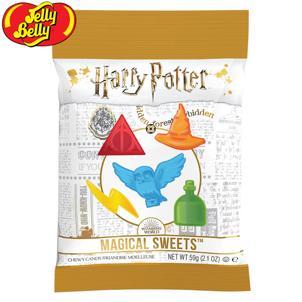 12-Pack: Jelly Belly Harry Potter Magical Sweets (2.1oz Bag)