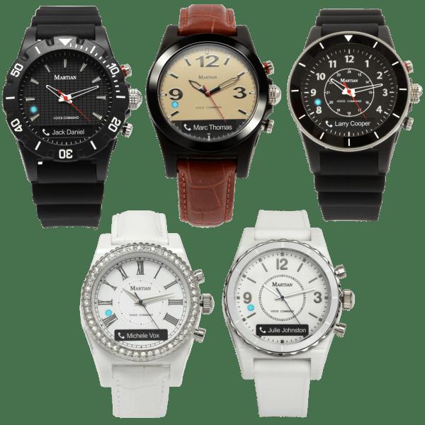 Martian mVoice Active Smartwatch with Alexa