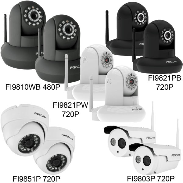 2-For-Tuesday: Foscam Security Cameras (Refurbished)