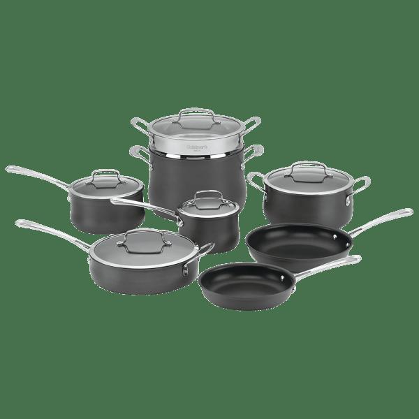 Cuisinart 13-Piece Hard Anodized Cookware