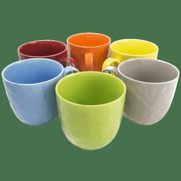 6-Pack: Yedi New Bone China Mugs