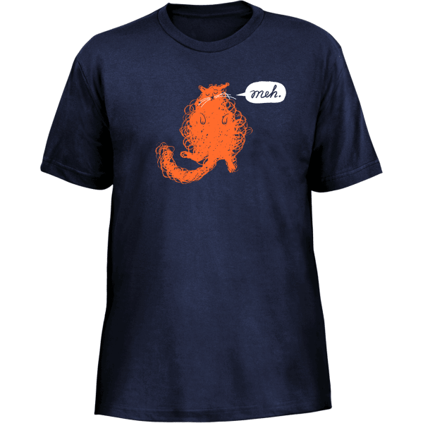 Meh Cat Shirt: Loafing or Loathing?
