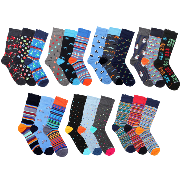 3-Pack: Unsimply Stitched Socks in Gift Boxes