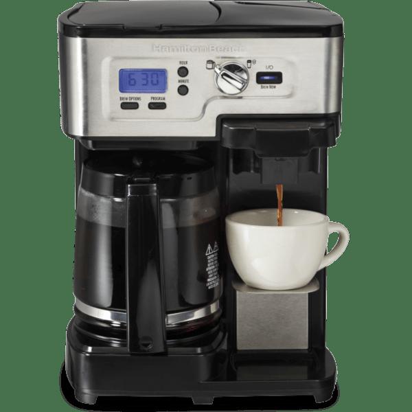 Hamilton Beach FlexBrew 2-Way Brewer Coffee Maker Milk Carafe /& 2 Cups