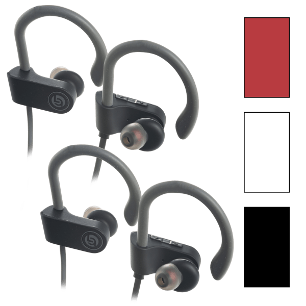 2-Pack: Lifestyle Advanced Bluetooth Earbuds