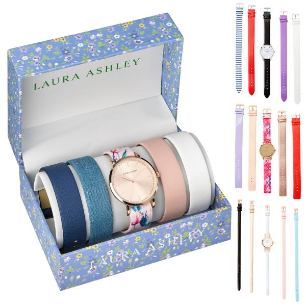 Laura Ashley Watches with Interchangeable Bands